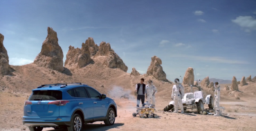 James Marsden Rescues Stranded Astronauts in New Toyota RAV4 Hybrid Commercial