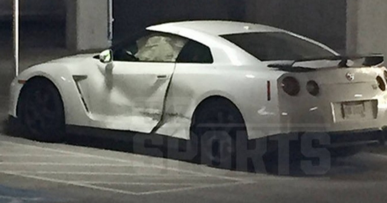Johnny Manziel Reportedly Survives Car Crash Involving his Nissan GT-R