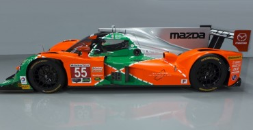 Mazda Celebrates 25th Anniversary of Le Mans Victory With Classic Argyle Paint Job