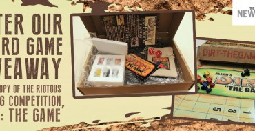 Enter Our Giveaway: Win 'Allen's Dirt: The Game,' an Exciting Dirt Track Racing Board Game