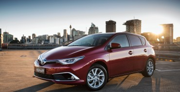Australian Corolla Hybrid Has 1,000 Kilometer Driving Range