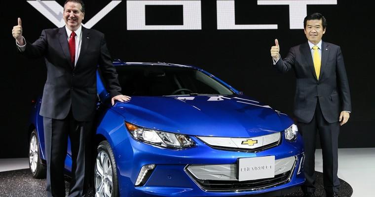2017 Chevy Volt Debuts at 2016 Busan International Motor Show