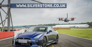 Nissan GT-R Drone Takes to the Sky