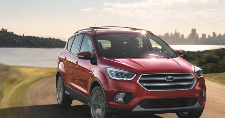 2017 Ford Escape Wins Cars.com Compact SUV Challenge