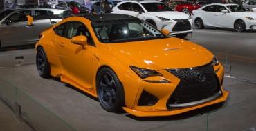 2016 Lexus RC F Overview