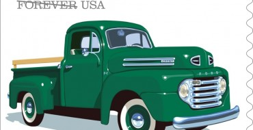 US Postal Service Announces New Stamps Featuring Classic Ford Trucks