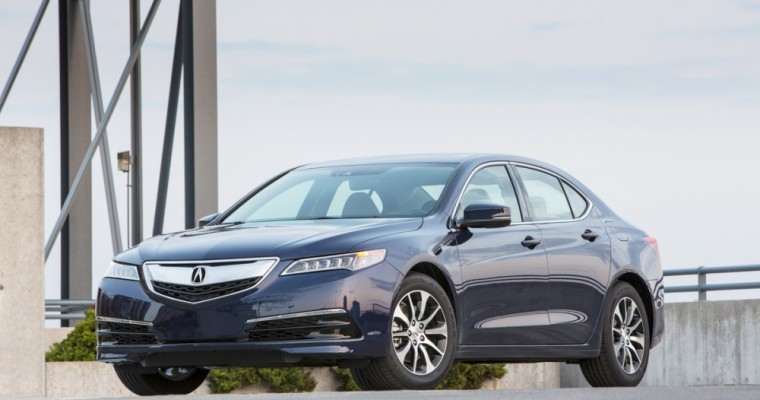 2017 Acura TLX to Carry Starting MSRP of $31,900
