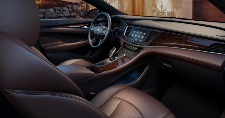 """Outstanding,"" ""Superb"" 2017 Buick LaCrosse Crashes Wards 10 Best Interiors List"