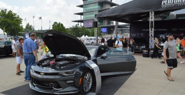2017 Chevy Camaro 50th Anniversary Edition Visits Indy for Brickyard 400