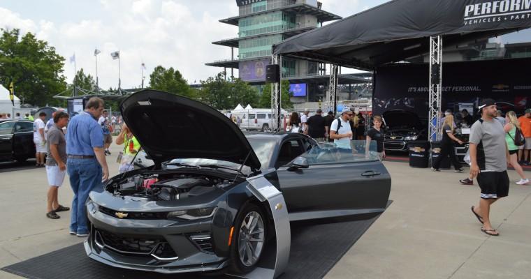 2017 Chevy Camaro 50th Anniversary Edition Visits Indy for Brickyard 400