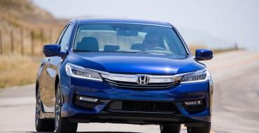 """2017 Honda Accord Hybrid, Fit, HR-V, and Ridgeline Win KBB """"Best Resale Value"""" Awards"""