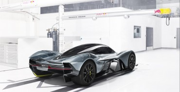 Photos: Aston Martin AM-RB 001 is More Spaceship than Hypercar