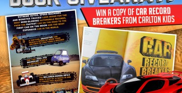 Enter Our Book Giveaway: Win a Copy of 'Car Record Breakers' from Carlton Kids!