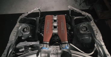 Ryan Tuerck is Putting a Ferrari V8 Engine in a Toyota 86
