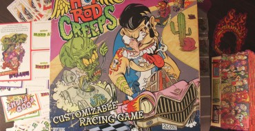 Board Game Review: 'Hot Rod Creeps' Customizable Racing Game