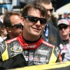 Chevy Racecar Driver Jeff Gordon Finishes 13th at Indianapolis Motor Speedway