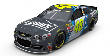 Paint Scheme for Jimmie Johnson's New Chevy Racecar Supports Youth Education