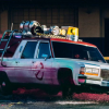 Ghostbuster Fans Caught a Ride in the Ecto-1 Thanks to Lyft