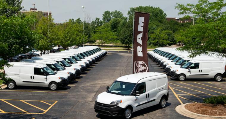 Ram Hosts ProMaster City Van Dealer Drive-Away Event in Chicago Area