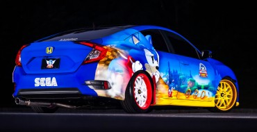 Honda Sonic Civic Debuts at San Diego Comic-Con, Goes Fast