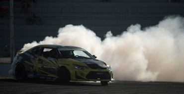 """The Norwegian Hammer"" Drifts Scion tC to Victory in Montreal"