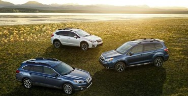 Subaru Outback, Forester, Crosstrek Sweep Ideal Vehicle Awards in SUV Segments
