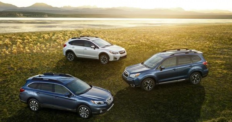 Subaru Outback, Forester, Crosstrek Sweep Ideal Vehicle Awards in SUV Segments