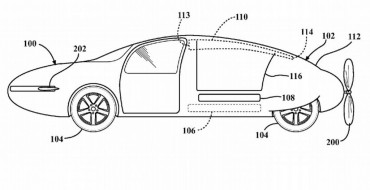 Toyota Teases Us Some More with Another Flying Car Patent