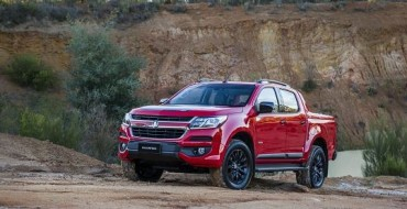 2017 Holden Colorado Revealed at ANZ Stadium