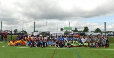 Vauxhall Sponsors Luton Juniors Football Tournament