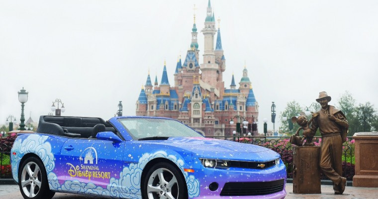 Chevy Sponsors Tron Ride, Provides Parade Vehicle for Shanghai Disney Resort