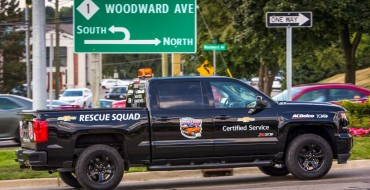 2016 Chevy Silverado Rescue Squad Returning to Woodward Dream Cruise