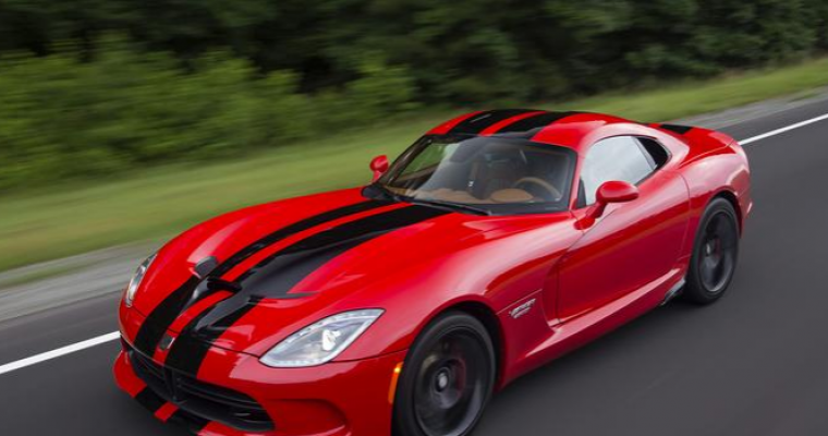 2017 Dodge Viper Ordering Halted to Determine Number of Remaining Available Cars