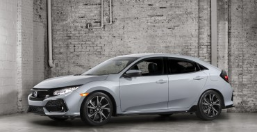 NHTSA Awards 2017 Honda Civic Hatchback 5-Star Safety Rating