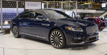 2017 Lincoln Continental Leads to September Sales Gain in First Month