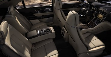 2017 Lincoln Continental Makes Autotrader's Best Interiors List, Scores Well in 2017 VDS