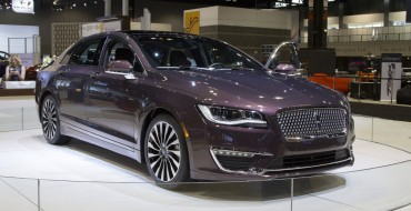 Top Safety Pick+ Award Given to 2017 Lincoln MKZ