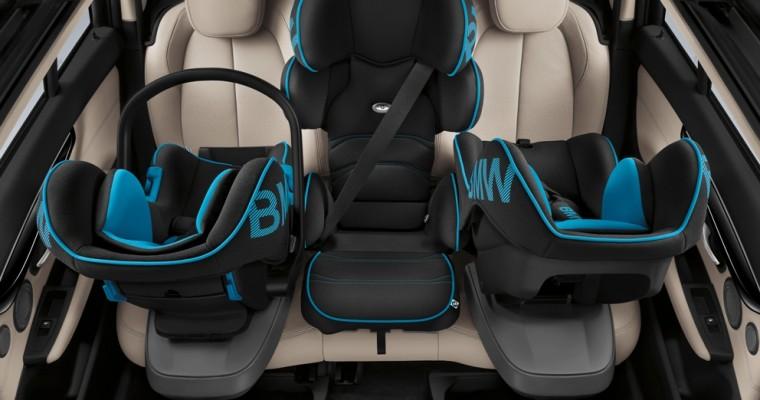 European BMW Car Seats Are Pretty Darn Sharp