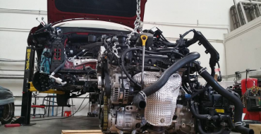 Bisimoto Engineering is Putting a Hyundai V6 Motor in a Porsche 911