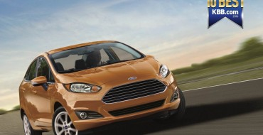 Ford Fiesta Scores KBB.com Best Back-to-School Car Nod for Second Straight Year
