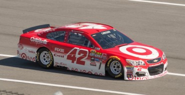 Chevy Driver Kyle Larson Wins First Career NASCAR Sprint Cup Race
