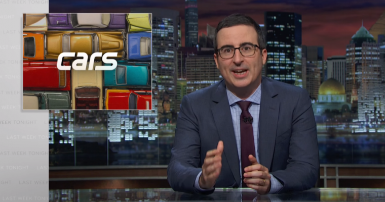 John Oliver Airs Dirty Auto Loan Secrets