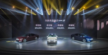 Lincoln Launches All-New MKZ in Beijing