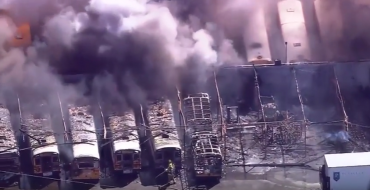 Fire Ravages 26 Buses in Washington, School Promises to Carry on Regardless