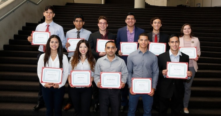 Honda and Hispanic Scholarship Fund Recognize Outstanding Latino Students in Ohio