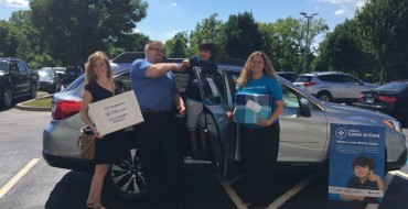 Subaru Loves to Care Effort Brings Warmth to Leukemia & Lymphoma Patients