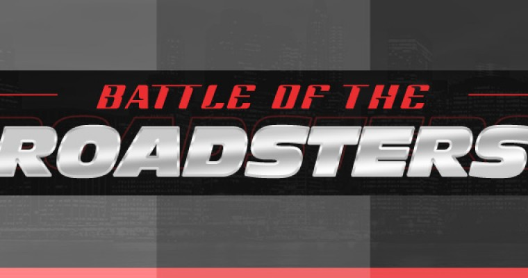 Infographic: Battle of the Roadsters