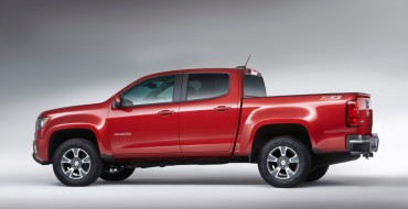 2017 Chevy Colorado Gets New V6 Engine, Eight-Speed Automatic