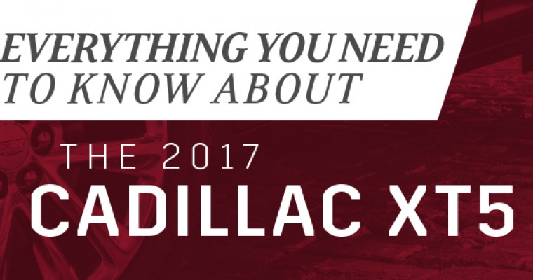 Infographic: Everything You Need to Know about the 2017 Cadillac XT5