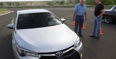 Jay Leno Drag Races Tim Allen in an 850-Horsepower Toyota Camry [VIDEO]